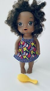 Hasbro 2018 Baby Alive African American Doll With Outfit and Brush
