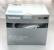 Tamron 24-70mm f2.8 Di USD for Sony A series - Boxed and Mint