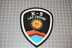 Las Cruces New Mexico K-9 Patch (S03-1)