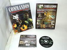 COMMANDOS big box pc videogame