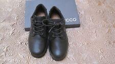 NIB Men's ECCO Rugged  Brecon GoreTex Mens Low Boots Black size EU 44(US10-10.5)