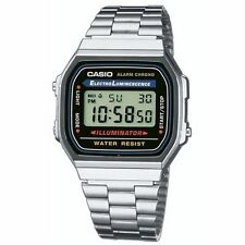 Casio Uhr digital Alarm-chronograph Chrono A168wa-1yes