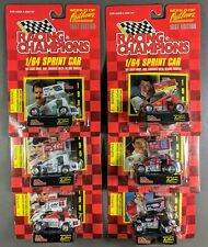 1997 Sprint Car 1:64 - Lot of 6 World of Outlaws Cars NASCAR - Two Autographed
