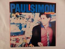 """Paul Simon """"Allergies"""" PICTURE SLEEVE! BRAND NEW! NICEST COPY ON eBAY!"""