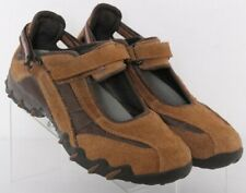 Mephisto Allrounder P000362 Brown Leather Mary Jane Flats Women's US 7.5