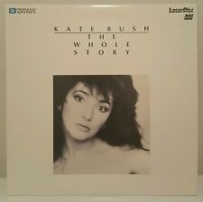 KATE BUSH  The WHOLE STORY  13 Video Hits Compilation  RaRe  Laserdisc  Edition
