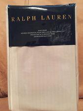 Ralph Lauren Dune Lane Light Gray White King Pillow Sham Jamesport $130 Msrp Nip