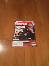 Newsweek Magazine Weight Of The World George Bush July 31 2006 Middle East