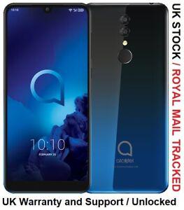 ALCATEL 3 2019 32GB + 3GB RAM - Unlocked UK Version - Purple / Black