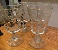 "La Rochere VERSAILLES 5 1/4"" Wine Glass Goblets Set(s) of 4"