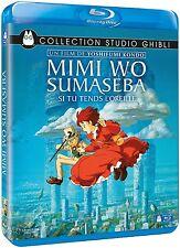 Blu-Ray Disney Studio Ghibli Si Tu Tends l'Oreille Y. Kondo Mimi Wo Sumaseba VF