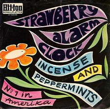 "7"" Strawberry Alarm Clock – Incense And Peppermints // Germany 1967"