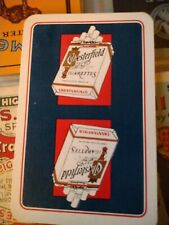 Vintage Collectable Playing Card Chesterfield Cigarettes