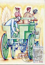 CARTE POSTALE MAXIMUM PREMIER JOUR // VOITURE ANCIENNE / AUTOMOBILE / PARIS 1984