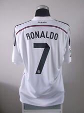 CRISTIANO Ronaldo #7 REAL MADRID CALCIO CASA Maglietta Jersey 2014/15 (XL)