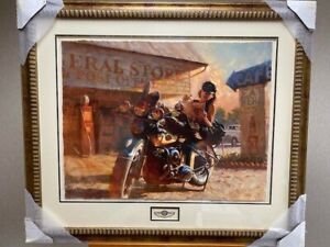 """David Uhl """"The Enthusiast"""" HD 100th Anniversary Framed and Signed Art Print"""