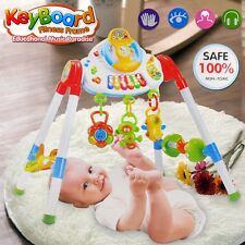 BABY ACTIVITY PLAY CENTRE TODDLER MUSICAL GYM WALKING TRAIN TABLE EARLY LEARNING