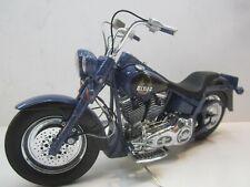 Franklin Mint Vtg Harley Davidson Biker Blues Motorcycle 1/10 Diecast Model Rare
