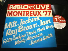 MILT JACKSON/ RAY BROWN JAM/JIMMIE SMITH/PABLO LIVE MONTREUX 77/ITALY PRESS