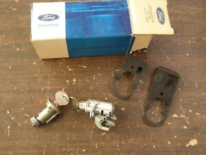 NOS OEM Ford 1972 1976 Torino Trunk + Glove Box Lock Set 1973 1974 1975 GT Sport