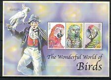 St Vincent 2839 - Parrots. Souvenir Sheet Of 13. MNH. OG.  #02 STVIN2839