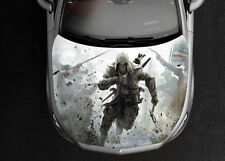 Assasin Creed #1 Car Hood Wrap Full Color Vinyl Sticker Decal Fit Any Car