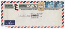 1975 TURKEY Air Mail Cover KARAKÖY to DUISBURG GERMANY Commercial