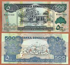 Somaliland, 2011, Unc, 500 Shillings,Banknote, Paper Money Bill, P-6h