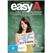 EASY A - BRAND NEW & SEALED R4 DVD (EMMA STONE, AMANDA BYNES, LISA KUDROW)