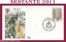 VATICANO FDC NUOVA CAPITOLIUM VISITA GIOVANNI PAOLO II PIURA PERU 1985 (615)