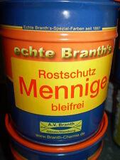 Branth Rostschutz Mennige Rostschutzmennige orange  750ml