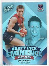 Daniel RICH Brisbane DPE8 2013 Prime Select Draft Pick Eminence