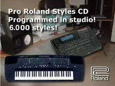 6000 stili E500 E300 Kr-570 Kr-770 Kr-1070 roland styles style collection