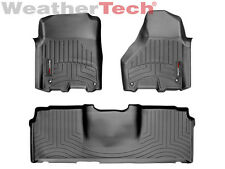 WeatherTech FloorLiner - Dodge Ram 2500/3500 - Mega Cab - 2012-2017 - Black