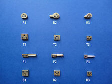BLOCKS & FORKS 400 Day Anniversary Jahresuhr Torsion Dome Clock - Clock Parts 1x