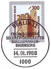 Berlin 1988: Hambacher Schloß! SWK Nr. 799 mit Ersttags-Sonderstempel! 1A! 1710