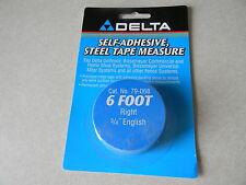 """Delta/Biesemeyer 79-068 6' RH tape 3/4"""" English markings"""