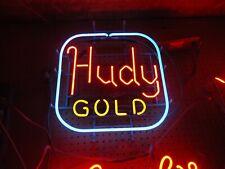 Antique Hudy Gold Neon Beer Light Sign Huge Man Cave Sale Check It Out Hudepohl