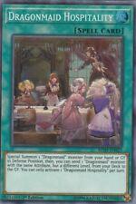 YUGIOH HOLO CARD  DRAGONMAID HOSPITALITY MYFI-EN023 1ST EDITION
