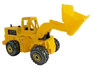 Vintage 1982 Mattel Hot Wheels CAT WHEEL LOADER Yellow #1173