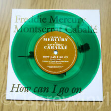 "Freddie Mercury Queen How Can I Go On Unplayed Green Coloured Vinyl 7"" single"