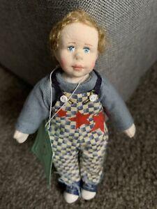 RARE Charlie Calico Boy Doll Ltd Ed 500 Jane Davies Deb Canham Artist Designs