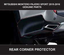 MITSUBISHI MONTERO PAJERO SPORT REAR CORNER PROTECTOR GENUINE PARTS 2015-2016
