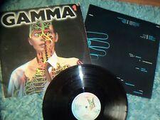 GAMMA - RONNIE MONTROSE - A1/B1 MATRIX - PIC INNER SLEEVE – 1979
