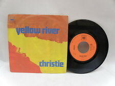 Disco 45 giri CHRISTIE Yellow river Down the Mississippi line