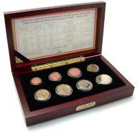 Belgien 3,88 Euro Kursmünzen 2002 PP KMS 1 Cent bis 2 Euro im Etui