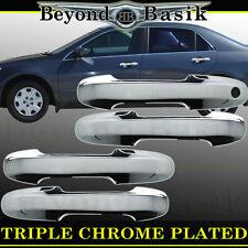 2003-2007 Honda Accord 4Dr Sedan Chrome Door Handle Covers Overlays Trims