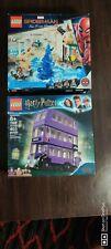 Lot 2- Lego Spiderman 76129 Harry Potter75957 knight bus Hydro-man attack NEW