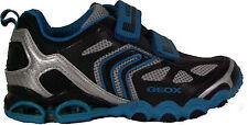 GEOX Schuhe Burschenschuhe Tornado blau/schwarz Klettverschluss  NEU