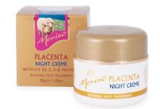 Merino Placenta Night Creme with Vit B5, C, E & Propolis 50g